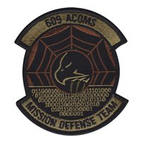 609 ACOMS Mission Defense Team OCP Patch