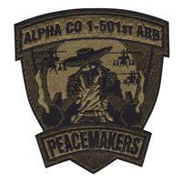 A Co 1-501 ARB Peacemakers OCP Patch