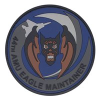 44 AMU Brown Vampire Eagle Maintainer PVC Patch