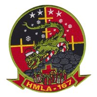 HMLA-167 Christmas Patch