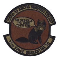 12 SWS Quarantine Morale Patch