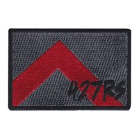 427 RS Rectangle Friday Patch