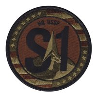 HQ USSF S1 OCP Patch