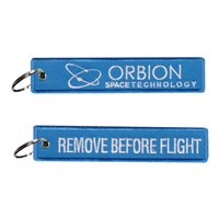 Orbion Space Technology Blue Key Flag