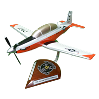 VT-6 T-6B Texan II Custom Airplane Model