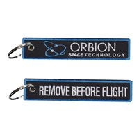 Orbion Space Technology Black Key Flag