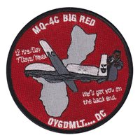 VUP-19 MQ-4C Big Red Patch