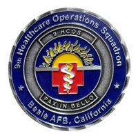 9 HCOS Commander Challenge Coin