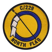 C Co 229 AHB North Flag Patch