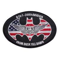 B Co 1-244 AVN OIR 19-20 Patch