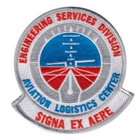 USCG Aviation Logistic Center Patch