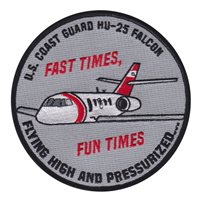 USCG HU-25 Falcon Patch