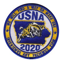 USNA Parents Club of Iowa Patch