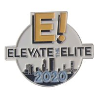 Elevate the Elite 2020 Challenge Coin