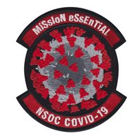 22 IS Mission Essential NSOC COVID-19 Patch