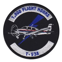 557 FTS T-53A 1000 Hours Patch