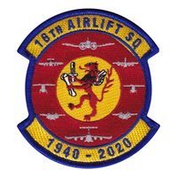 16 AS 1940-2020 Patch