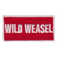 480 FS Wild Weasel Pencil Patch
