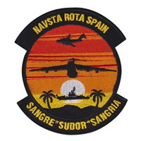 725 AMS C-17 Sangria Sudor Patch