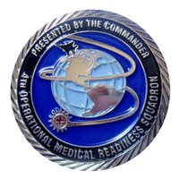 4 OMRS Commander Challenge Coin