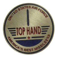 576 FLTS USAF Top Hand Challenge Coin