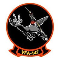 VFA-147 F/A-18E/F Custom Airplane Model