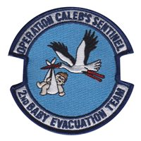 60 MDG Baby Evacuation Team Patch