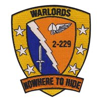 2 BN 229th AVN Regt. Warlords Patch