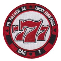 VP-5 Poker Chip Patch