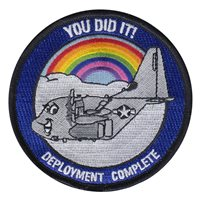 39 AS C-130J Deployment Complete Patch