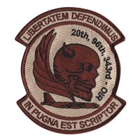 20 BS Deployment Desert Patch
