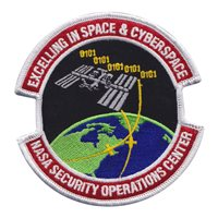 NASA Security Operations Center Patch