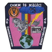 15 AF Communications Directorate A6 J6 Friday Patch