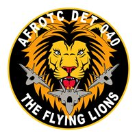 AFROTC Det 040 Loyola Marymount University Flying Lions Patch