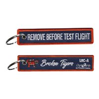 Dyncorp International Broken Tigers Key Flag