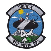 962 AACS Covid Ops Patch