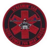HSC-6 MH-60 Screaming SAR Patch