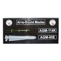 Air-to-Ground Missiles Custom Wall Plaque