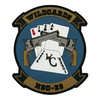 HSC-23 Wildcards PVC Patch