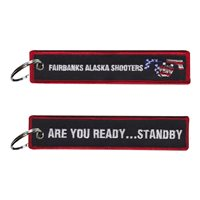 Fairbanks Alaska Shooters Are you Ready Key Flag