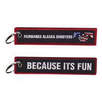 Fairbanks Alaska Shooters Because its Fun Key Flag