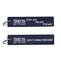 SES Group Blue Key Flag