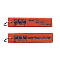 SES Group Orange Key Flag