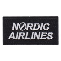 960 AACS Nordic Airlines Pencil Patch