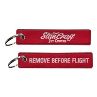 StanCraft Jet Center Key Flag