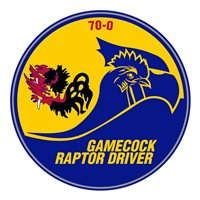 19 FS Gamecock Raptor Driver PVC Patch