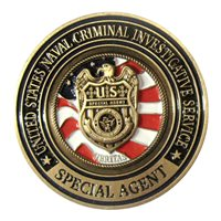 USNCIS Special Agent  Challenge Coin