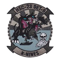 HSC-23 Det 9 K-Nines Patch