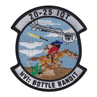 Holloman AFB IQT Class 20-25 Operation Bottle Bandit Patch