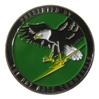 962 AACS Custom Air Force Challenge Coin